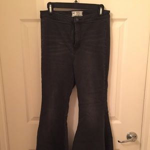 """Free People """"Just Float On"""" Flare Jeans"""